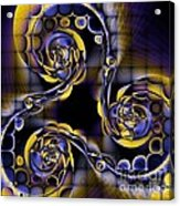 Glass Spirals Acrylic Print