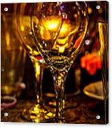 Glasses Aglow Acrylic Print