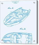 Glasspar 1960's California Boat Acrylic Print