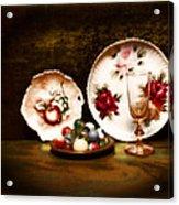 Glassware Acrylic Print