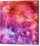 Glaze Abstract Phone Case Acrylic Print