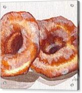 Glazed Donuts Acrylic Print