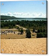Glen Lake From The Dune Climb Acrylic Print
