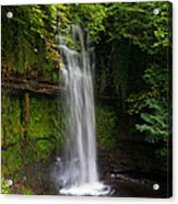 Glencar Waterfall Is Situated Acrylic Print