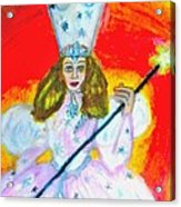 Glenda The Good Witch Of Oz Acrylic Print