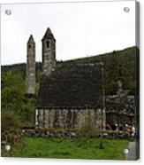 Glendalough Cloister Ruin - Ireland Acrylic Print