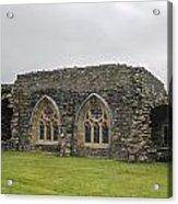 Glenluce Abbey - 1 Acrylic Print