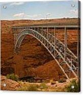 Glenn Dam Bridge Acrylic Print