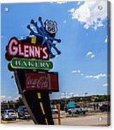 Glenns Bakery Acrylic Print