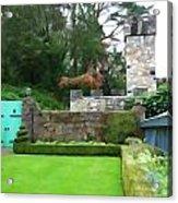 Glenveagh Garden Gate Acrylic Print