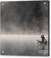 Gliding Through The Mist Acrylic Print