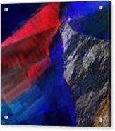 Glitchscape - Liquefaction Acrylic Print