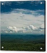 Globe And Sky Acrylic Print