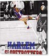Globetrotters Super Slam Acrylic Print by Robert Saunders Jr