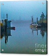 Gloomy Morning Acrylic Print