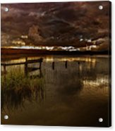 Gloomy Waters Acrylic Print