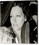 Gloria Swanson In The Film Three Weeks Acrylic Print