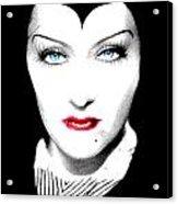 Gloria Swanson Malefica Acrylic Print