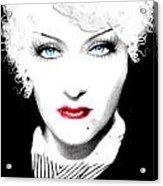 Gloria Swanson - Marlene Dietrich Acrylic Print