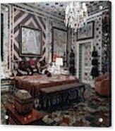 Gloria Vanderbilt's Bedroom Acrylic Print