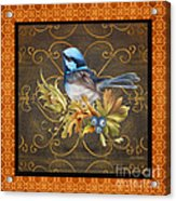 Glorious Birds-b2 Acrylic Print