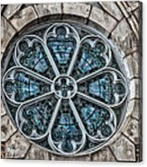 Glorious Church Stained Glass Acrylic Print