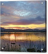 Glorious Morning In Donegal Acrylic Print