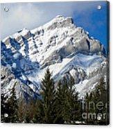 Glorious Rockies Acrylic Print