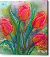 Glorious Tulips Acrylic Print