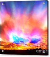 Glory Sunset Acrylic Print