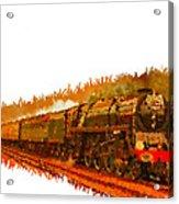Glory Train To Heaven Acrylic Print