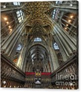 Gloucester Cathedral 2.0 Acrylic Print