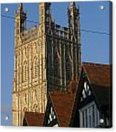 Gloucester Cathedral Spire Acrylic Print