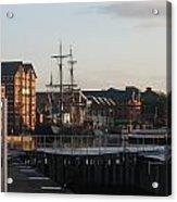 Gloucester Docks 3 Acrylic Print