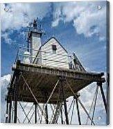 Gloucester Harbor Beacon Station Acrylic Print