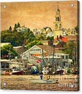 Gloucester Harbor Acrylic Print