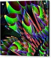 Glow In The Dark Abstract Acrylic Print