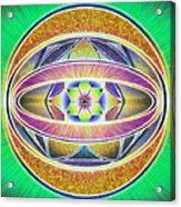 Glow Sphere Delta Acrylic Print