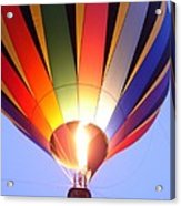 Glowing Balloon Acrylic Print