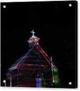 Glowing Church I Acrylic Print