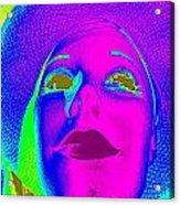 Glowing Gigi Acrylic Print