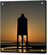 Glowing Lighthouse Acrylic Print by Anne Gilbert
