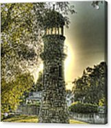 Glowing Lighthouse Acrylic Print