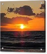 Glowing Sunrise Acrylic Print
