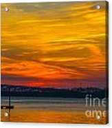 Glowing With Color Acrylic Print