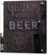 Gluek Beer Acrylic Print