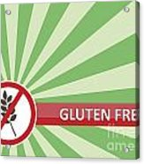 Gluten Free Banner Acrylic Print