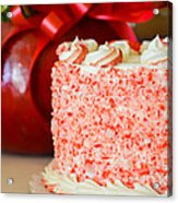 Gluten Free Peppermint Cake Acrylic Print