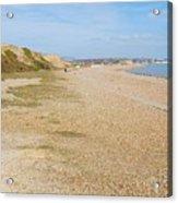 Glyne Gap Coast In England Acrylic Print