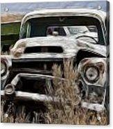 G M Old Pickup Acrylic Print